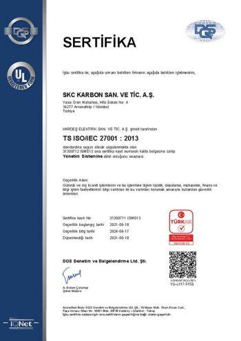 TS ISO/IEC 27001:2013