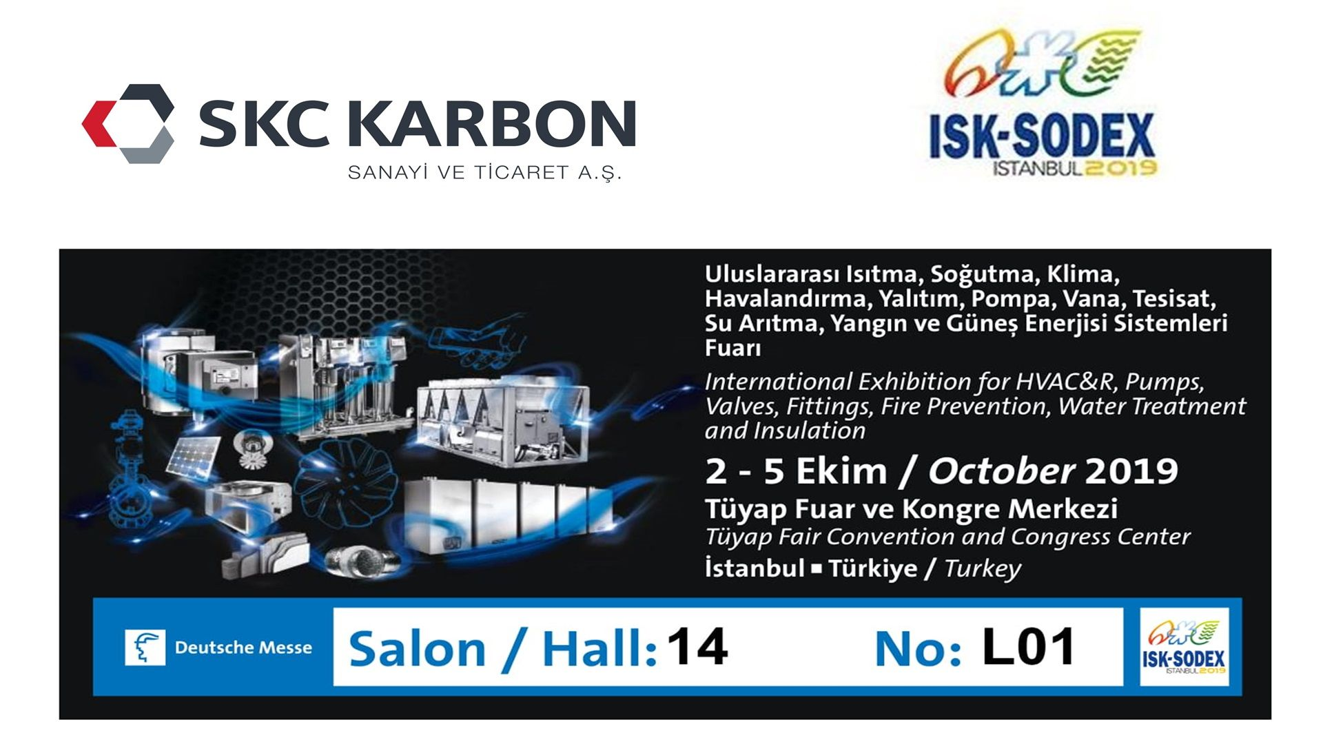SKC Carbon is at SODEX Fair