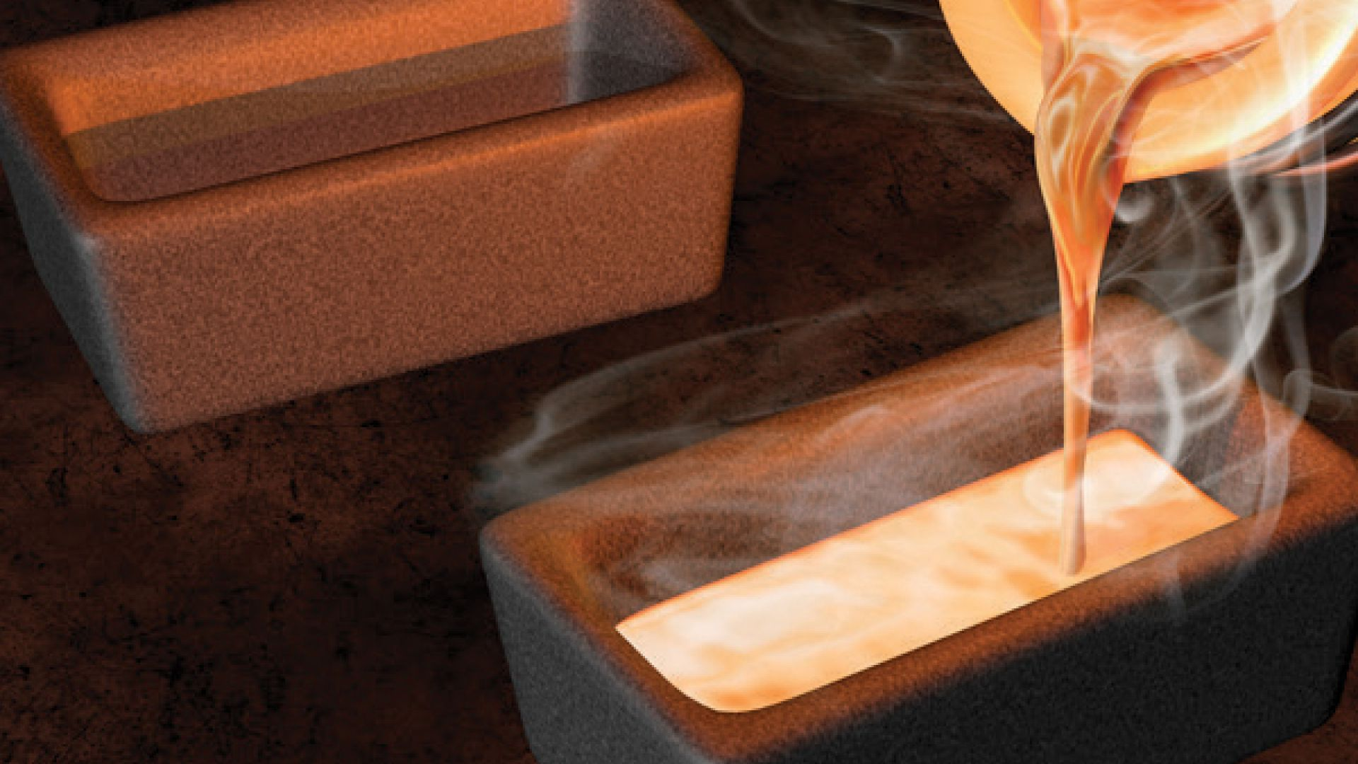 Casting And Shaping Precious Metals (Gold, Silver Etc.)